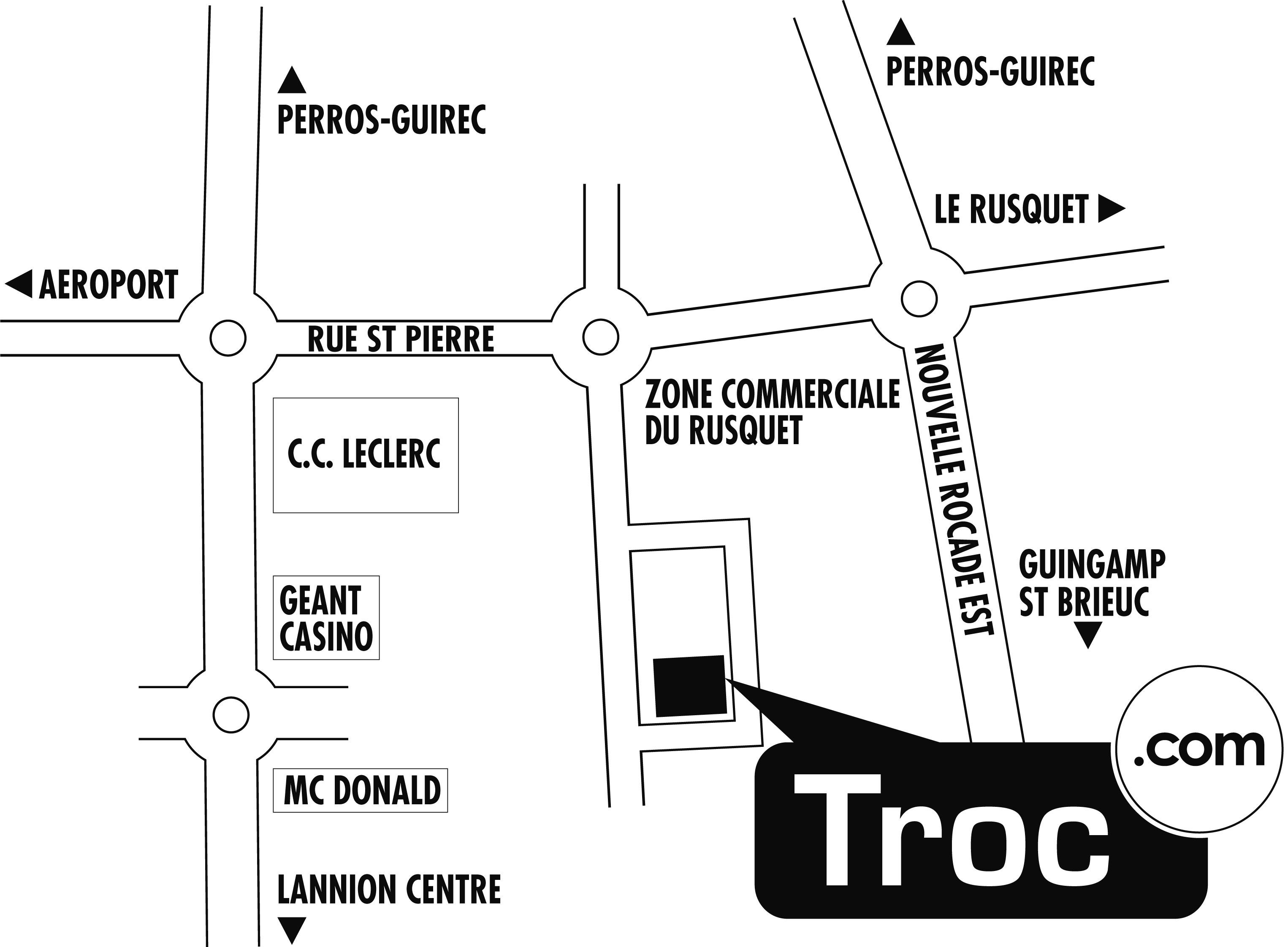 Troc De L Ile Le Puy En Velay #8: Télécharger Le Plan Du0027accès