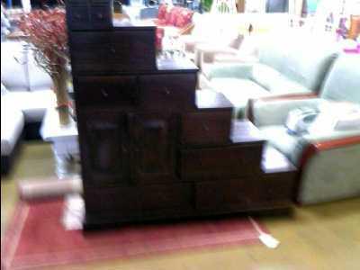 meuble escalier bois exotique d 39 occasion. Black Bedroom Furniture Sets. Home Design Ideas