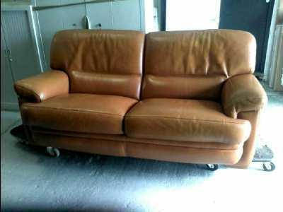 canape cuir pleine fleur d 39 occasion. Black Bedroom Furniture Sets. Home Design Ideas
