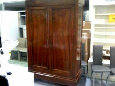 armoire ancienne 2 portes d 39 occasion. Black Bedroom Furniture Sets. Home Design Ideas