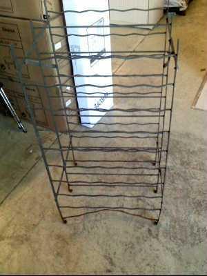 casier casier a bouteilles double en metal pm d 39 occasion. Black Bedroom Furniture Sets. Home Design Ideas