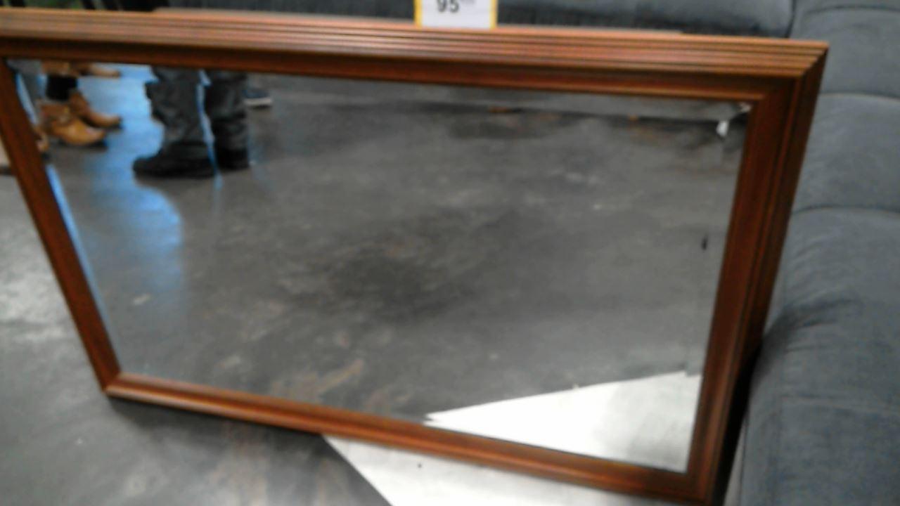 miroir biseaute contour bois d 39 occasion. Black Bedroom Furniture Sets. Home Design Ideas