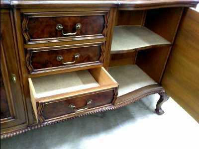 buf enf st chippendale ronce de d 39 occasion. Black Bedroom Furniture Sets. Home Design Ideas