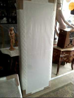 sommier tapissier 70x190 d 39 occasion. Black Bedroom Furniture Sets. Home Design Ideas